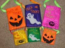 Trick or Treat Bag Set Design files