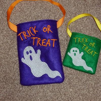 Ghost Treat Bag Design file