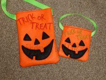 Pumpkin Treat Bag Design file