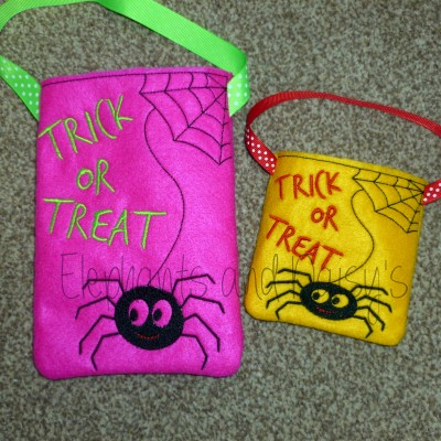 Spider Treat Bag Design file