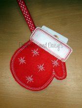 Mitten Gift Card Holder Design file
