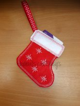Stocking Gift Card Holder Design file