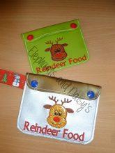 Reindeer Food Pouch Design file