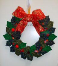 Holly Wreath Design file