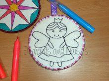 Colour Bauble Fairy Design file