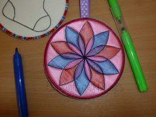 Colour Bauble Petal Design file