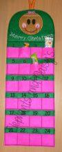 Advent Calendar Gingerbread Girl Design file