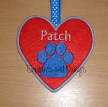 Paw Heart Design File
