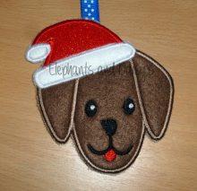 Santa Paws Dog Design file