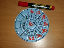 Times Tables Wheel Design file