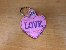 Heart Keyring Design file