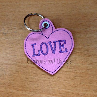 Heart Keyring Design file