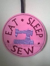 Eat Sleep Sew Design file