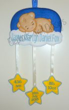 Bear Sleeping Birth Hanger Design file