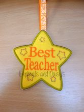 Best Teacher Star Design file