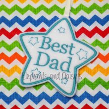 Best Dad Star Design file