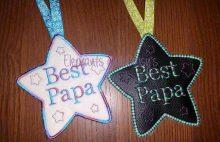 Best Papa Star Design file