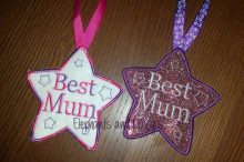 Best Mum Star Design file