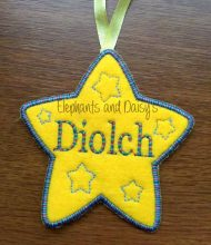 Diolch Star Design file