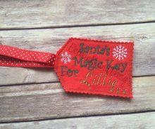 Personalised Santa's Magic Key Design file