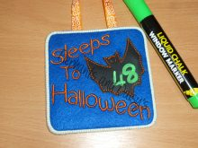 Sleeps to Halloween Design file