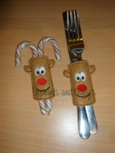 Rudolf Candy Cane Holder Design file