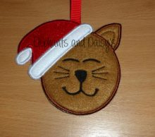 Santa Claws Cat Design file