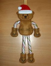 Candy Cane Bear Design file
