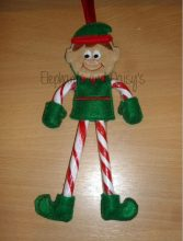 Elf Candy Cane Design file