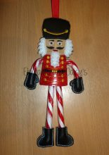 Nut Cracker Candy Cane Holder design file