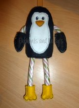 Candy Cane Penguin Design file