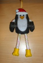 Candy Cane Santa Penguin Design file