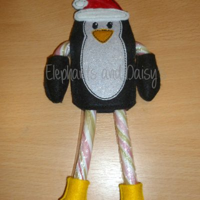 Candy Cane Santa Penguin Design file