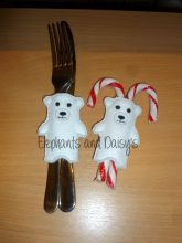 Polar Bear Cutlery Holder Design file