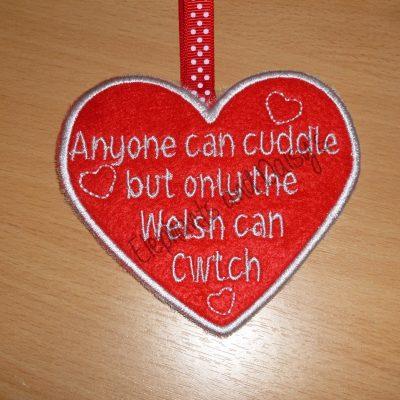 Welsh Heart Design file