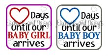 Days Baby Boy – Baby Girl Design file