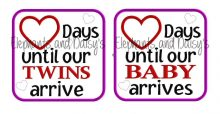 Days Baby – Twins Design file