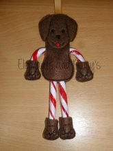 Candy Cane Dog 2 Holder Design file