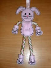 Candy Cane Bunny Design file