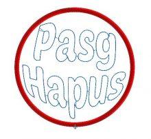 Happy Easter Welsh Colour Bauble Design file