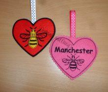 Manchester Bee Heart Design files