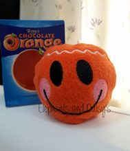 Gingerbread Man Chocolate Orange Cosy Design file