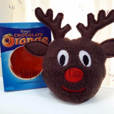 Rudolf Chocolate Orange Cosy Design file