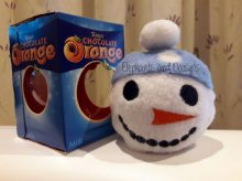 Snowman Chocolate Orange Cosy Design file