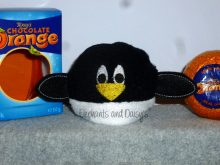 Penguin Chocolate Orange Cosy Design file