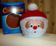 Santa Chocolate Orange Cosy Design file