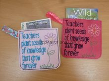 Teacher Seeds Pouch Design file