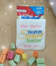 Sweet Teacher Pouch Design file