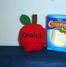 Diolch Apple Choc Orange Cosy Design file