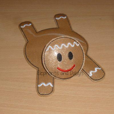 Gingerbread Man Coaster Design file